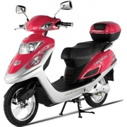 X-Treme XB-502 Electric Bicycle Scooter Moped,  Pink